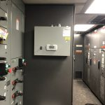 Split Unit Install On An Oil Rig